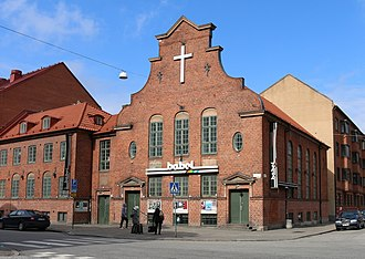 Church of the Brethren - Former Brethren church (Betesda) in Malmö, Scania, Sweden.