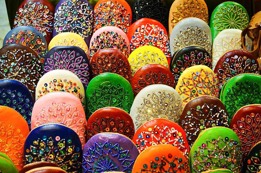 Shopping à Marrakech : Bienvenue dans la caverne d'Ali Baba, ici dans le coin