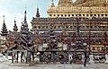 Bagan-180-Shwezigon-Pagode-Fuss der Pagode-1976-gje.jpg