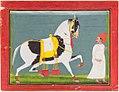 Bagta - Horse Haikval and a Syce.jpg