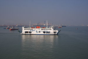 Madura Strait - Madura Strait ferry