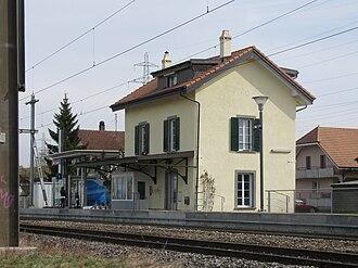 Galmiz - Galmiz train station