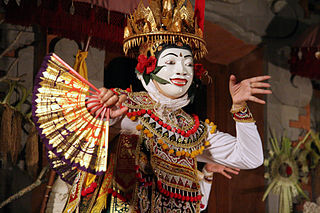 Topeng dance Indonesian traditional dance