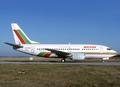 Balkan Bulgarian Airlines Boeing 737-500 LZ-BOC CDG 1997-9-26.png