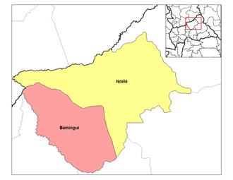 Sub-prefectures of the Central African Republic - Sub-prefectures of Bamingui-Bangoran