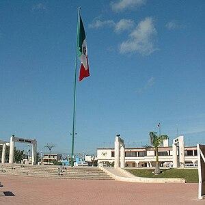 Banderas monumentales - Image: Banderas monumentales, Quintana Roo, Mexico