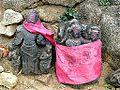 Barabar Caves - Temple Statues (9224752277).jpg