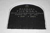 Barbara Fijewska grób.JPG