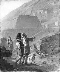 Anno 1692. Menno van Couhoorn leidt Vauban rond door de vestingwerken van Namen
