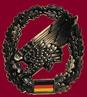 Fallschirmjäger - Badge of the Fallschirmjäger (Bundeswehr)