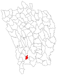Location of Bârlad