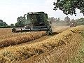 Barley harvest at Tower Farm - geograph.org.uk - 896315.jpg