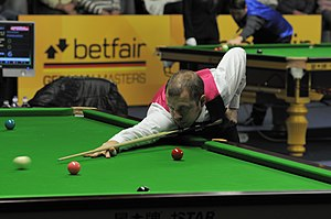 Barry Hawkins - Image: Barry Hawkins at Snooker German Masters (Der Hexer) 2013 01 30 2