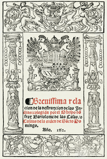 <i>A Short Account of the Destruction of the Indies</i> 1552 book