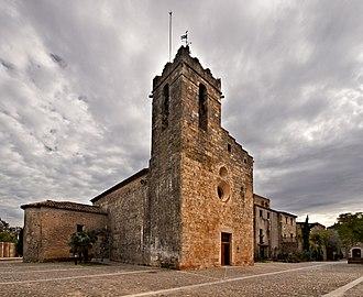 Bàscara - Church of saints Iscle and Victoria, in Bàscara