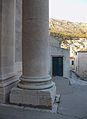 Base d'una columna de l'església de sant Ignasi, Dubrovnik.JPG
