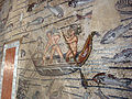 Basilica di aquilieia, mosaici, fishing and Jonah's stories carpet 06.JPG