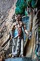 Batu Caves. Stairway to Temple Cave. Statues on the rocks. 2019-12-01 11-01-28.jpg