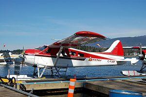 Baxter Aviation - A De Havilland Beaver in Baxter Aviation livery