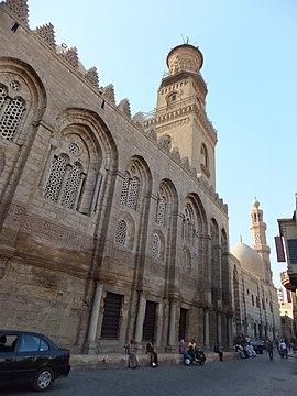 The Qalawun mausoleum complex at Bayn al-Qasrayn.