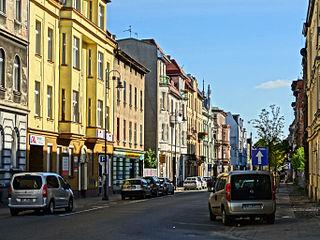 Pomorska Street in Bydgoszcz