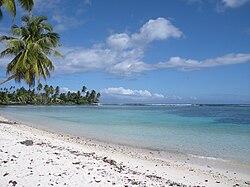 Beach on Upolu Island, Samoa, 2009.jpg