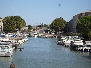 Beaucaire, Canal du Rhône
