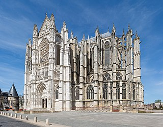 incomplete Roman Catholic cathedral located in Beauvais, France