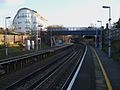 Beckenham Hill stn look south.JPG