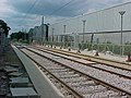 Beddington Lane Tram Stop - under construction - geograph.org.uk - 683516.jpg