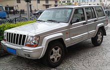 Chinese Built Jeep 2500 Version Of The Cherokee Xj Rear Quarter View