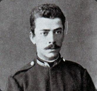 Bela Čikoš Sesija - Bela Čikoš Sesija in uniform  (mid 1880s)