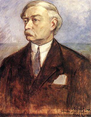 Béla Iványi-Grünwald - Self-portrait, ca. 1903