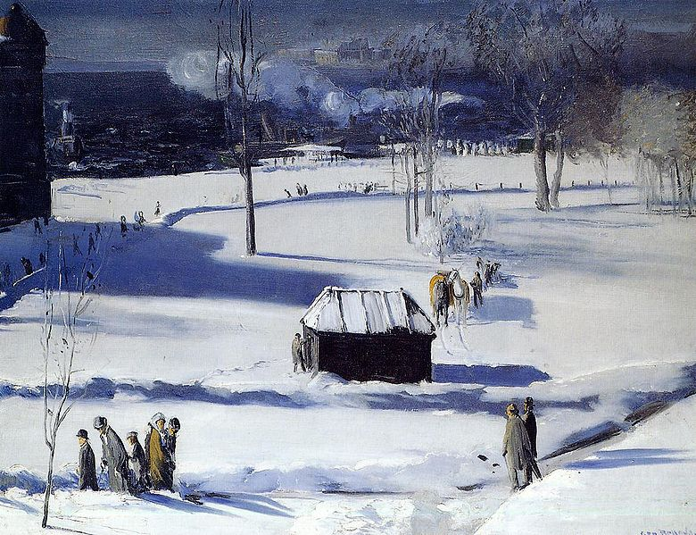 File:Bellows George Blue Snow the Battery 1910.jpg