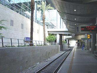 Ben Gurion Airport railway station - Image: Ben Gu Tra