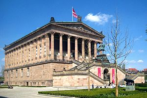 National Gallery (Berlin) - Original building of the National Gallery in Berlin, now the Alte Nationalgalerie