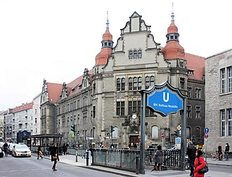 Neukölln - County-Court Building of Neukölln, near the Rathaus Neukölln U-Bahn station