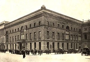 Hotel Adlon - Palais Redern, about 1900
