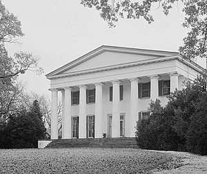 National Register of Historic Places listings in Halifax County, Virginia - Image: Berry Hill (Halifax County, Virginia)