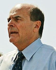 Bersani a un comizio nel 2012