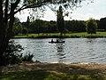 Bexley, rowing on Danson Park lake - geograph.org.uk - 972262.jpg