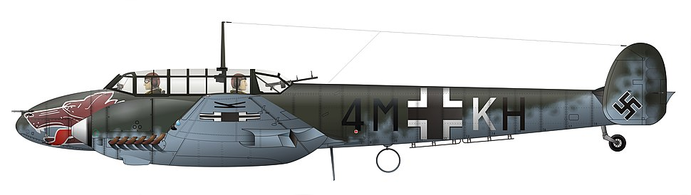 Bf 110 end