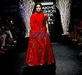 Bhumi Pednekar walks for Rucera at Lakme Fashion Week 2017 (03).jpg