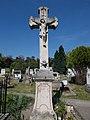 Bia Catholic cemetery, Crucifix (1804). - Biatorbágy, Pest County, Hungary.jpg
