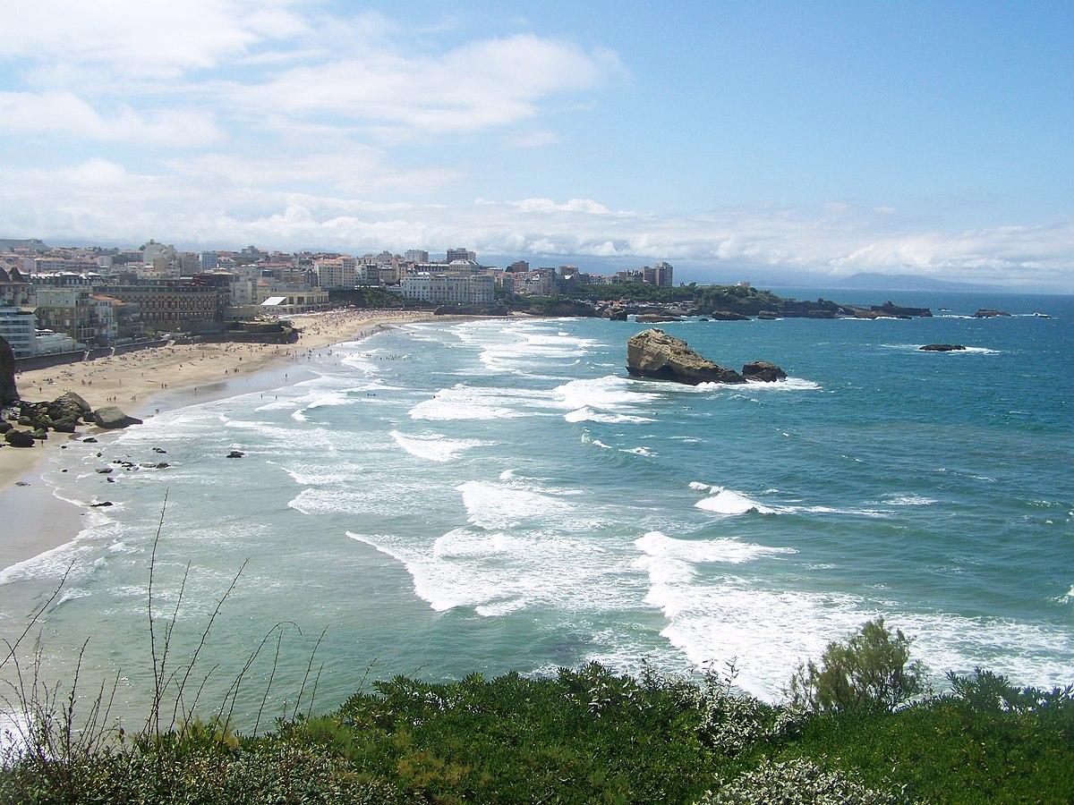 Biarritz wikip dia for Piscine municipale biarritz
