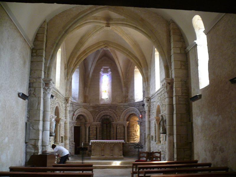 Saint-Étienne's church of Biarrotte (Landes, Aquitaine, France).