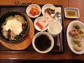 Bibimbap, miyeok-guk, and mandu.jpg