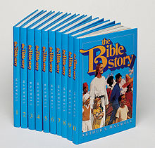 A set of 10 blue books