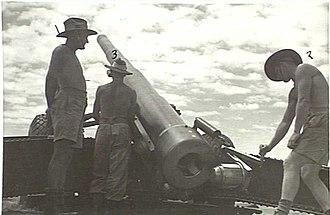 Lytton, Queensland - Image: Big Gun at Lytton Brisbane Queensland Australia