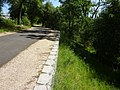 Bike trail buttressed on slope heading down to Willow Creek - panoramio.jpg